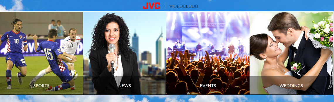 JVC VIDEOCLOUD - platforma on line pentru live streaming